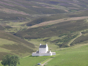 Photo: One of the many Scottish castles, Corgarff in lonely moor setting