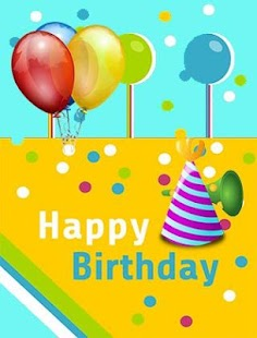 Happy Birthday Wishes Cards - náhled