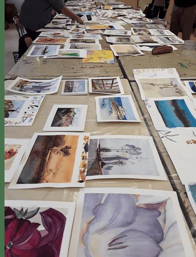 stages cours aquarelle jeanne PAPA fontainebleau veneux les sablons 77