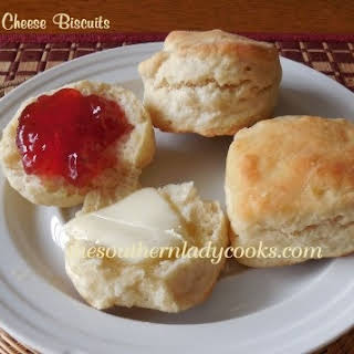 CREAM CHEESE BISCUITS.