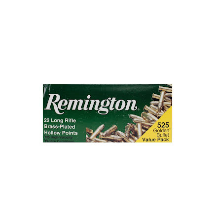 Remington 525 Golden Value Pack Brass Plated HP
