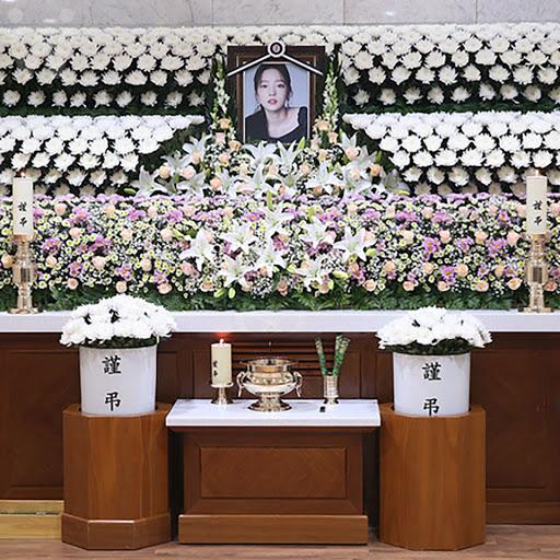 goo hara funeral mom 5