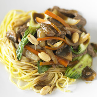 Beef and Peanut Stir-Fry.