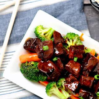 Paleo Crockpot Mongolian Beef.