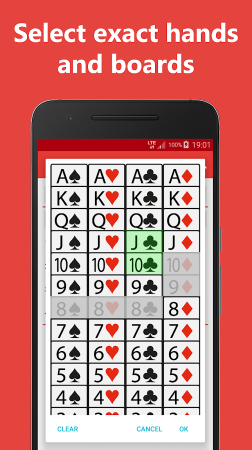 Poker Equity Calculator Pro for No Limit Hold'em- screenshot