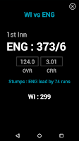 Screenshot of NDTV Cricket