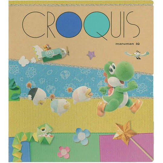 Yoshi Craft World Croky Book