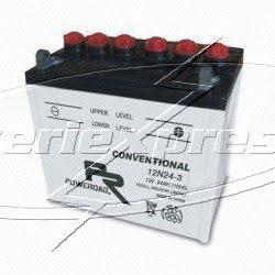 12N24-3, MC vätskebatteri 24Ah