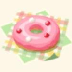 ドーナツのお菓子の画像