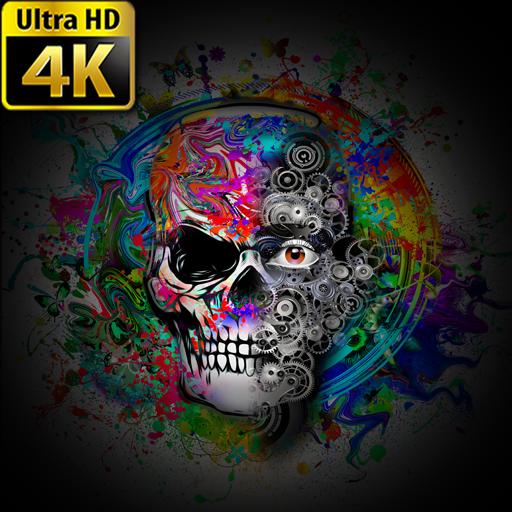 App Insights Wallpapers Skull 4k Apptopia