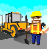 Blocky Highway Road Building