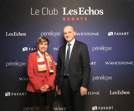 Club Les Echos Débats avec Méka Brunel, Directrice Générale Gécina