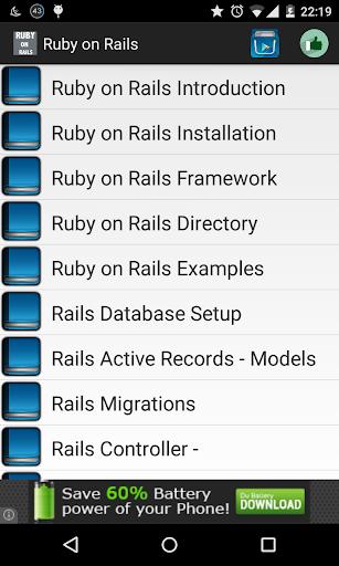 Ruby on rails offline