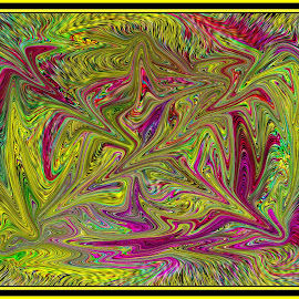 Abstract composition #63 by Morris Kleyman - Abstract Patterns ( abstract, colors..., patterns, composition, shape )