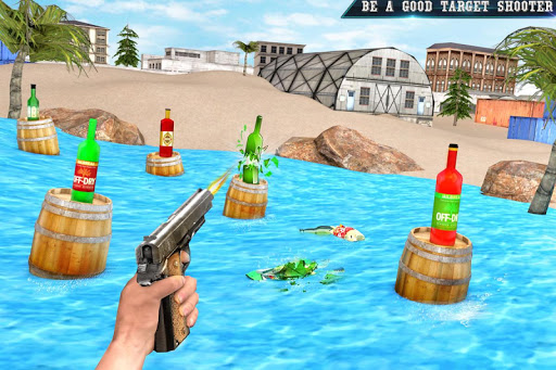 Real Bottle Shooting Free Games| 3D Shooting Games apkpoly screenshots 4