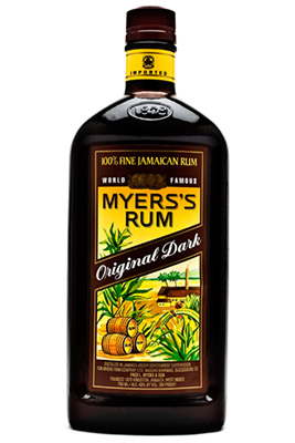 Logo for Myers's Dark Rum