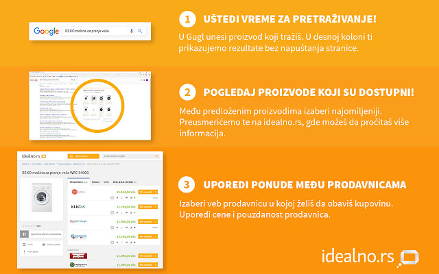 1-2-3 Kupovina s Idealno.rs