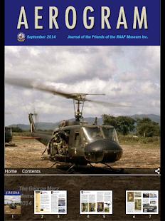 AEROGRAM Magazine RAAF Museum - náhled