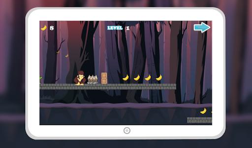 Monkey Jungle Run Dash screenshot 0