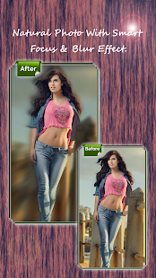 Blur Effect Photo Editor - náhled
