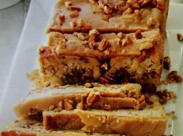 Praline Topped Apple Bread Recipe