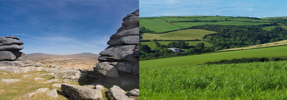 Explore the stunning countryside while on holiday in Devon, from the moorland to the rolling green hills.
