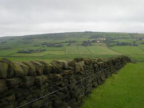Photo: Climbing the Pennine Way towards Pry Hill