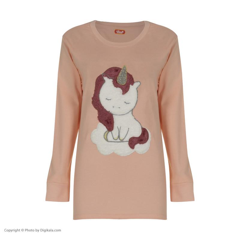 ست تی شرت و شلوار زنانه مادر مدل 2041303-80
