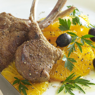 Spiced Lamb with Oranges and Olives