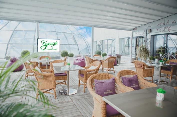 Фото №2 зала Летняя терраса ресторана «Кураж»