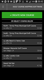 iGolf Course Mapping Software- screenshot thumbnail