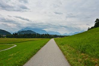 Photo: Ostatnie kilka kilometrów przed miastem pokonuję po ścieżkach rowerowych.
