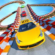 Real Taxi Car Stunts 3D: Impossible Ramp Car Stunt