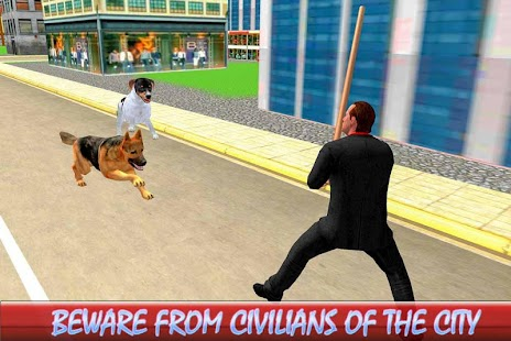 Wild Street Dog Attack: Mad Dogs Fighting - náhled