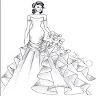 Design Women's Wedding Gown icon