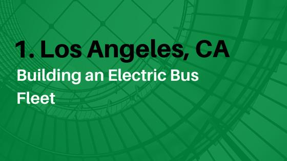 Building an electric bus fleet