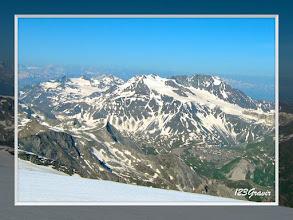 Photo: Glaciers de Chavière et de Gébroulaz