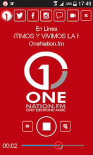 OneNation.fm- screenshot thumbnail