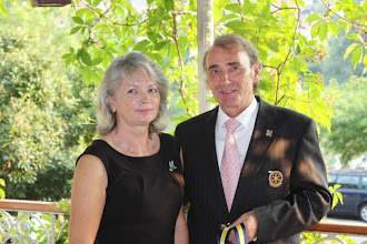 Photo: First Lady Margret and President Klaus - 2009/2010 Rotary Year