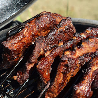 Dry Rubbed BBQ Ribs.
