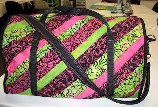 Photo: The Weekender Bag was constructed and taught by Tracey from Ultimate Sewing Center Oshawa, Ontario Canada
