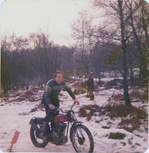 Photo: Red Panther Bardon hill quarry.Jan 1980