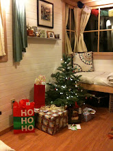 Photo: Santa fit down the chimney!