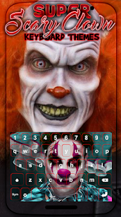 Super Scary Clown Keyboard Themes - náhled