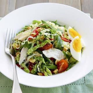 Chicken Salad with Thai Dressing.