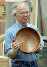 Photo: Phil Brown, large cherry bowl