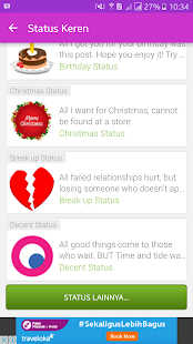Update Status Keren Fb Gaul Dan Lucu Kekinian Apps On Google Play