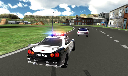 Police Super Car Driving apkpoly screenshots 1