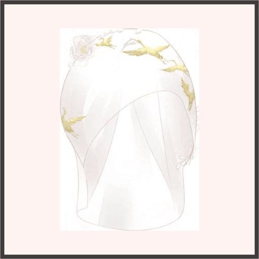 花嫁の綿帽子