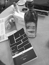 Photo: Are you ready for the Bloomsday? Yes: James Joyce's Ulysses, Bushmills Irish Whiskey, a newspaper, a black coffee.